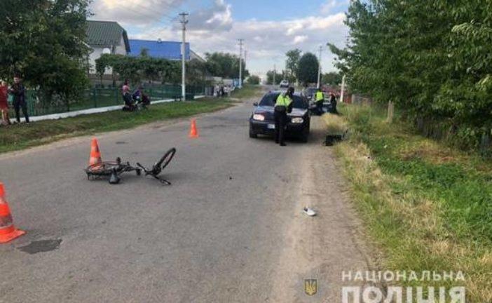 На Тернопільщині 7-річний хлопчик потрапив під колеса іномарки