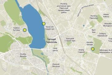 На Інтерактивній карті незаконних забудов у Тернополі з'явилося три об'єкти