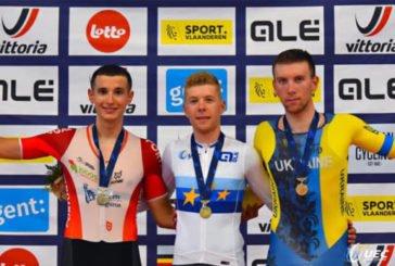 Тернополянин Владислав Щербань став бронзовим призером чемпіонату Європи з велотреку