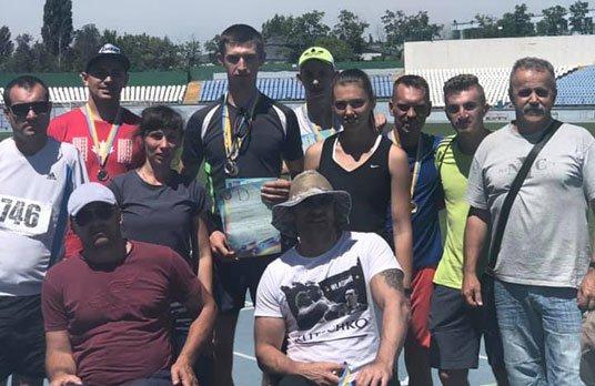 Легкоатлети тернопільського «Інваспорту» завоювали у Кропивницькому 18 нагород