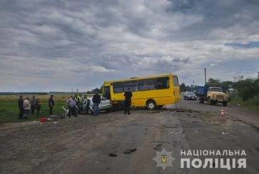 На Тернопільщині рейсовий автобус потрапив в аварію