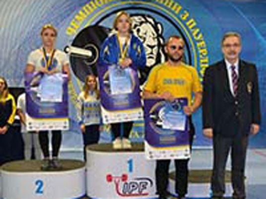 Тернополянка Марія Полянська стала чемпіонкою України з пауерліфтингу