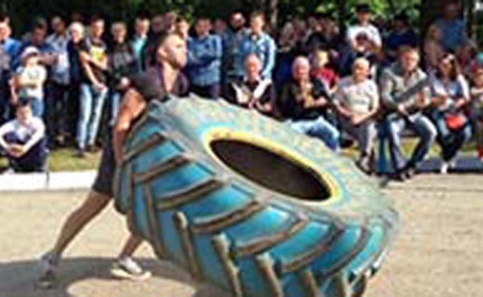 На Гусятинщині відбулися змагання з богатирського багатоборства