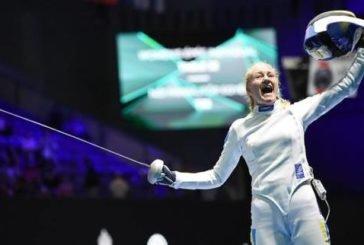 Тернополянка Олена Кривицька виграла «бронзу» чемпіонату світу з фехтування