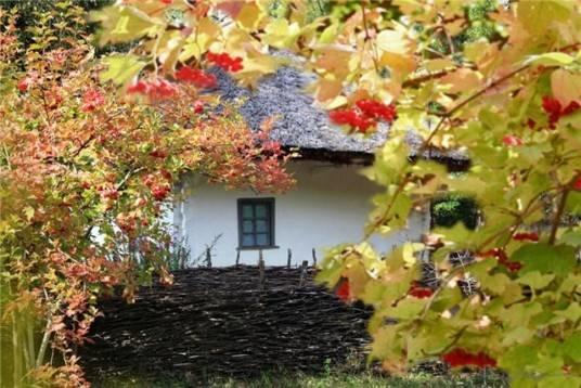 Хатина край села