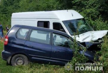 На Кременеччині після ДТП до лікарні потрапили двоє дітей та їхня мама
