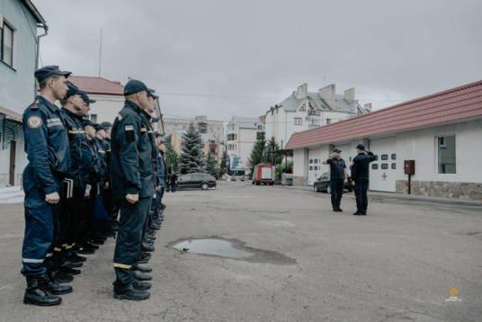 У Тернополі визначали кращого начальника караулу обласної служби ДСНС (ФОТО)
