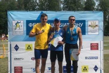 Тернополянин Руслан Бригадир здобув «золото« і «срібло» на чемпіонаті України з літнього біатлону