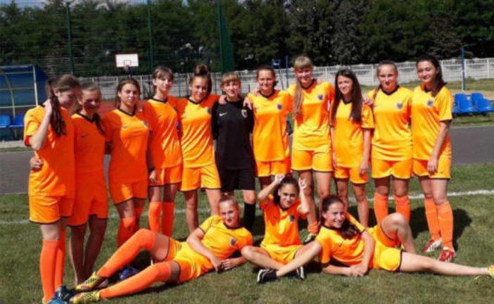 Тернопільські дівчата посіли сьоме місце на першості Україні (U-15)