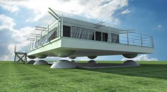 Японці створили «літаючі» будинки