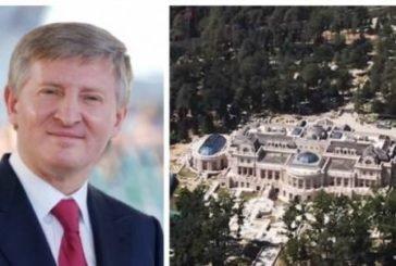 Ахметов будує розкішний маєток під Києвом за гроші від