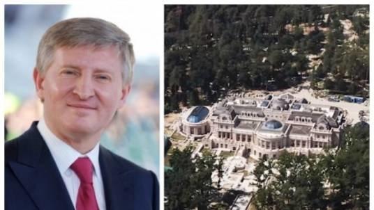 """Ахметов будує розкішний маєток під Києвом за гроші від """"Роттердам+"""": фото і відео"""