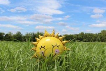 Сьогодні - багато сонця, чистого неба, сухого повітря і слабкого вітру