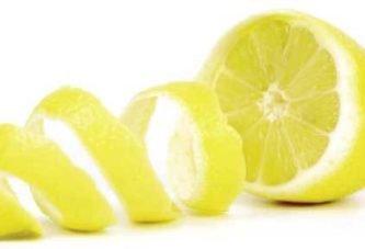 Використовуйте шкірки лимонів для лікування стоп