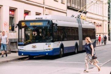 Рига планує відмовитися від тролейбусів