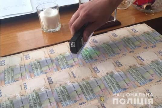 На Тернопільщині сільського голову спіймали на хабарі (ФОТО)