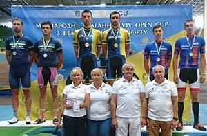 Тернопільські велосипедисти відзначились медалями на трьох змаганнях у Львові
