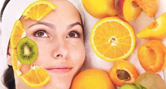 Вітамінні маски з овочів і фруктів