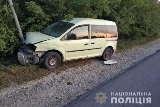 У ДТП на Кременеччині постраждала 2-річна дитина