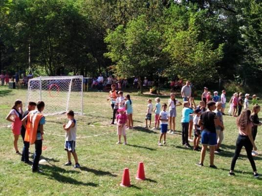 «Олімпійське літо» проводило по-спортивному час в Угринові