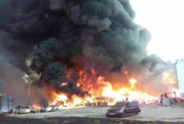 Не виходити на вулицю та закрити вікна: На Львівщині на хімічному підприємстві сталася масштабна пожежа (ФОТО)