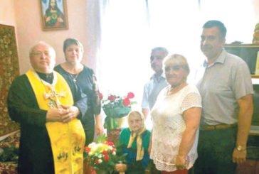 100-річна ювілярка із села Новосілка Бучацького району пережила голод і війну, але не втратила любові до життя