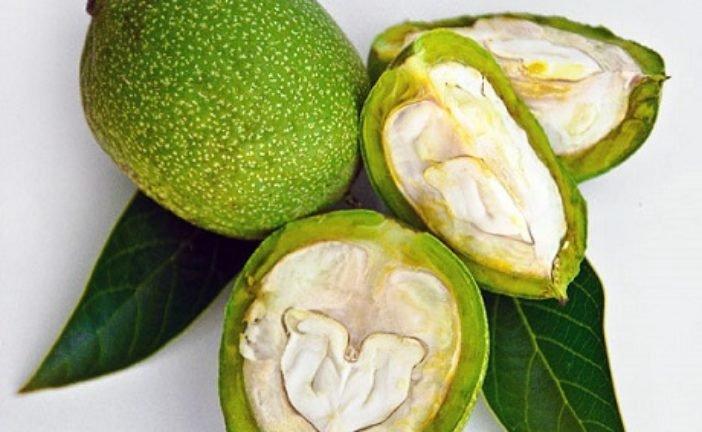 Як приготувати ліки з молодих зелених горіхів