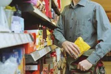 У Тернополі злодій набрав продуктів у супермаркеті на понад 700 гривень, але не заплатив