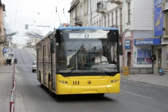 У Тернополі з 1 вересня тролейбуси №1 і 5 курсуватимуть за новими маршрутами