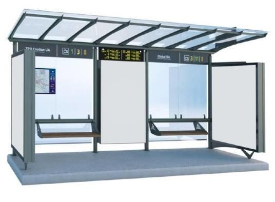 У Тернополі встановлять сучасні зупинки громадського транспорту (ФОТО)