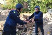 У Тернополі на подвір'ї школи знайшли більше сотні снарядів (ФОТО)