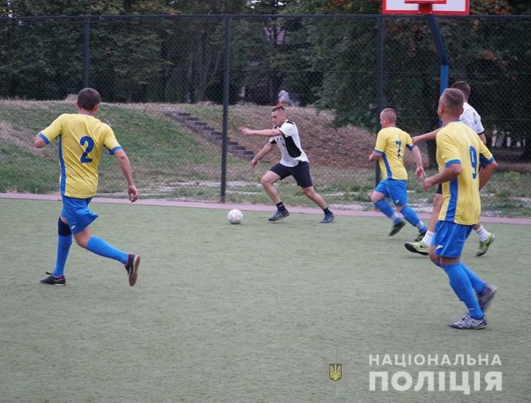 Футбольний матч пам'яті загиблих правоохоронців відбувся у Тернополі (ФОТО)