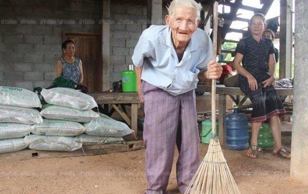 У Таїланді знайшли 128-річного довгожителя
