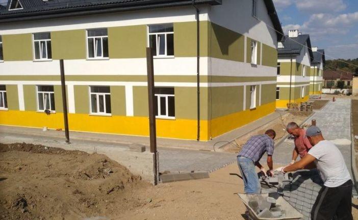 У Теребовлі збудували казарми за стандартами НАТО для 375 контрактників (ФОТО)