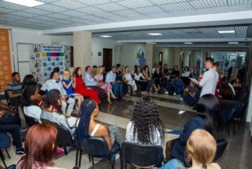 У ТНЕУ відбувся вечір поезій: «Відкрий світ з міжнародним» (ФОТО)