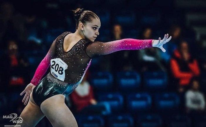 Тернопільська гімнастка Анастасія Бачинська – срібна призерка етапу Кубку світового виклику FIG у Парижі