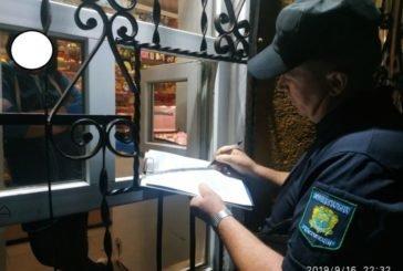 У Тернополі торгувати алкоголем у нічний час заборонено. Але дехто на це не зважає (ФОТО)