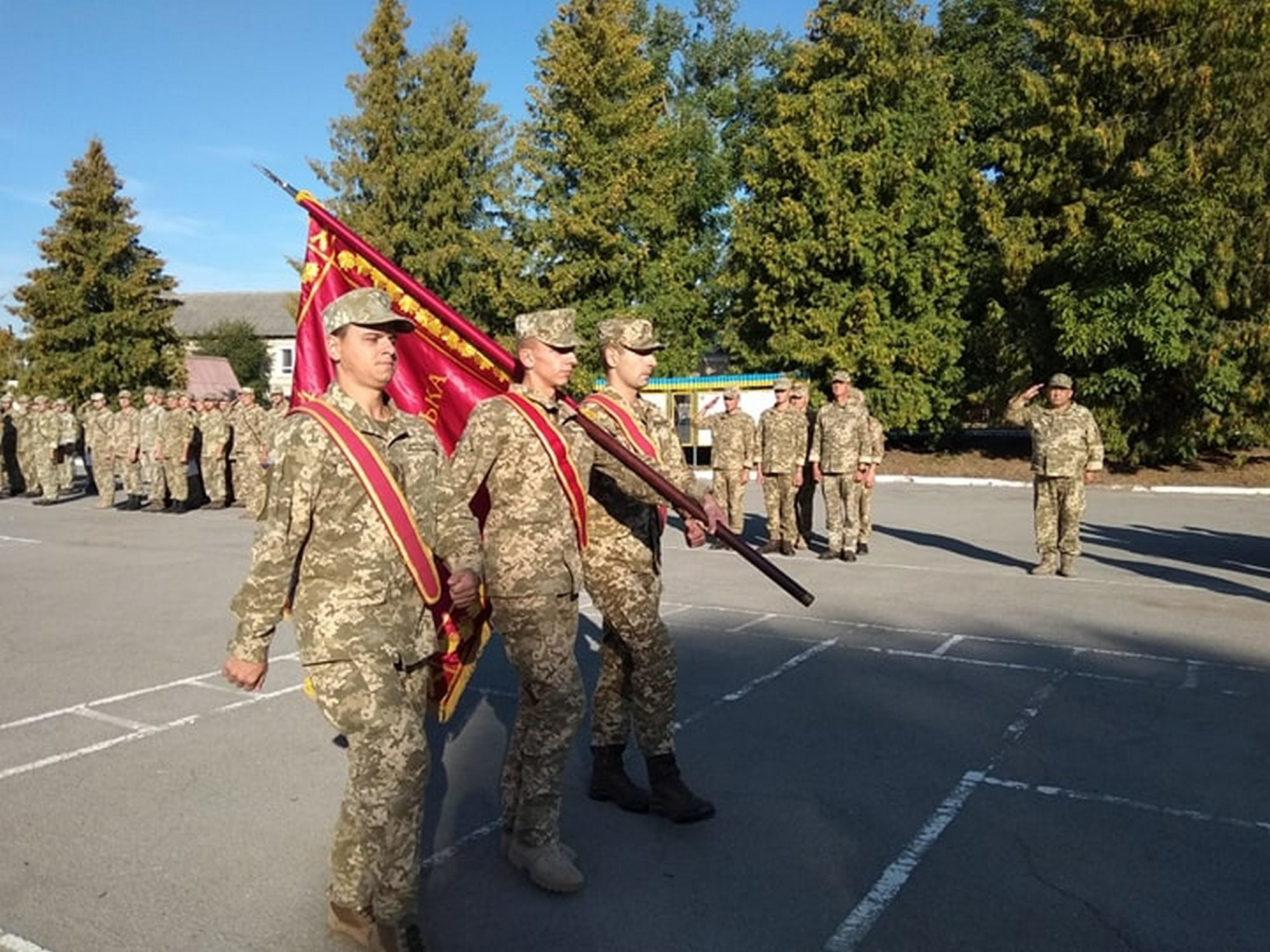 У Тернополі окрема артбригада ОК «Захід» відзначила 5-у річницю від дня створення (ФОТО)