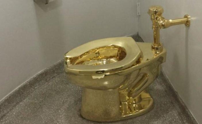 Із палацу в Англії вкрали золотий унітаз