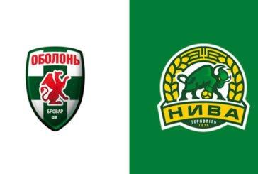 """Матч """"Оболонь-Бровар-2"""" – """"Нива"""" відбудеться 22 вересня"""