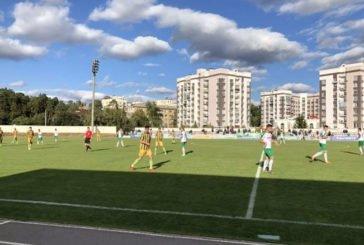 """""""Нива"""" завершила перше коло чемпіонату Другої ліги на вершині турнірної таблиці"""