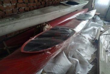 Юні бережанські веслувальники отримали нову байдарку (ФОТО)