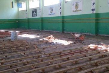 У Теребовлі розпочався ремонт найбільшого спортивного залу (ФОТО)