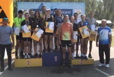 Юні тернопільські біатлоністи здобули на літньому чемпіонаті України 15 медалей (ФОТО)