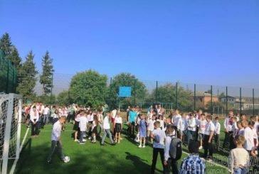У Лановецькій ЗОШ №2 урочисто відкрито новий спортивний майданчик (ФОТО)