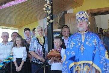 У Снігурівці на Тернопільщині освятили церкву, яка згоріла на Великдень чотири роки тому (ФОТОРЕПОРТАЖ)