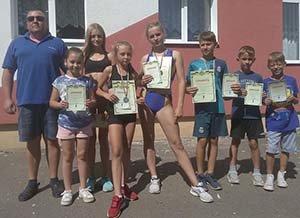 Юні зборівські легкоатлети здобули на Львівщині золоту, срібну та бронзову нагороди