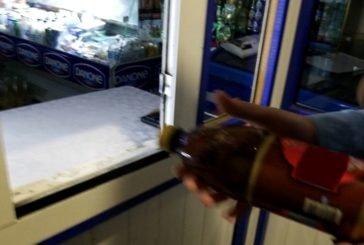 Не зважаючи на заборону, в Тернополі у нічний час торгують алкоголем