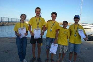 Тернопільські віндсерфінгісти здобули на вересневих вітрильних регатах п'ять медалей