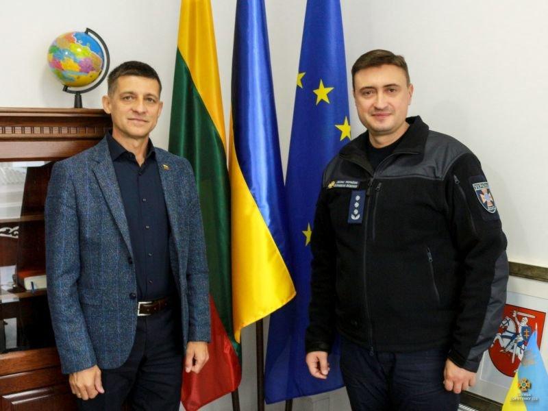 Рятувальники Тернопільщини обговорили перспективи ділового партнерства з литовськими колегами (ФОТО)